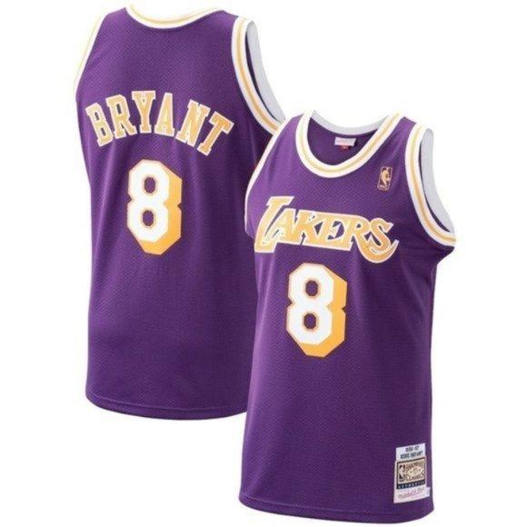 NBA Shirts | Kobe Bryant La Lakers 8 Throwback Jersey | Poshmark